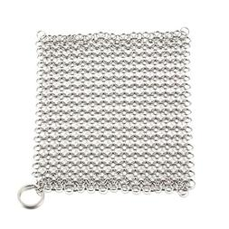 cast iron cleaner wire mesh