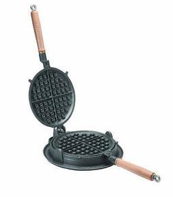 Texsport Outdoor Cast Iron Waffle Iron Maker