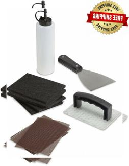 Cuisinart CCK-358 10 Piece Griddle Cleaning Kit, Silver/Blac