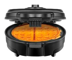 Chefman Belgian Anti-Overflow Waffle Maker - Black