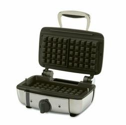 All Clad Stainless Steel Square Electric Waffle Maker
