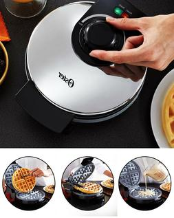 Classic Belgian Waffle Maker Machine Non-Stick Coating Dura-
