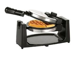 Classic Rotating Flip Non-Stick Belgian Waffle Maker Iron Re