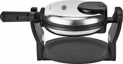Classic Rotating Non-Stick Belgian Waffle Maker Stainless w/