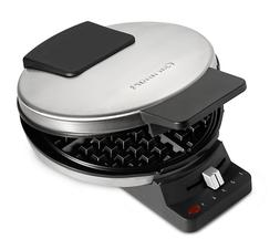 CUISINART Classic Round WAFFLE MAKER Nonstick Stainless Stee
