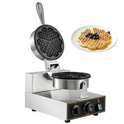 Commercial Waffle Maker Belgian Waffle Heart Shaped Nonstick