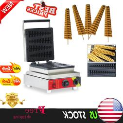 Commercial Nonstick 110v Electric 4pcs Lolly Waffle Stick Ba
