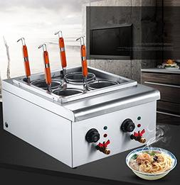 Commercial Table Top 4 Baskets 220V Electric Pasta Cooking M