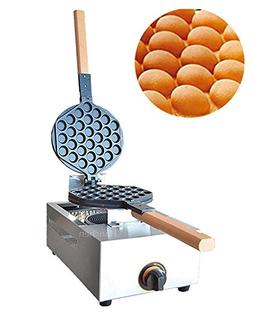 Commerical Gas Type Egg Waffle Maker Waffle Pan Eggettes Bub