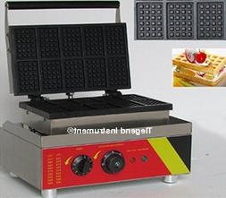 Tlegend Instrument® CR-10R Rectangle Waffle Maker Belgian W
