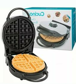 Cucina Pro Classic Belgian Round Waffle Maker-New in Box