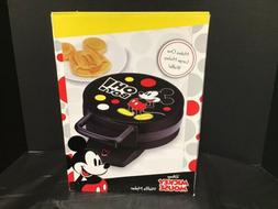 Disney DCM-32 Mickey Mouse Waffle Maker 7 inch,Black New