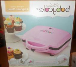 Deluxe Babycakes: Nonstick Coated Cupcake Maker ~ Includes D