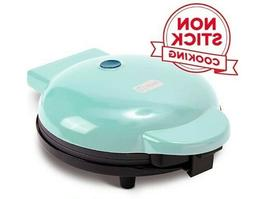 "Dash DEWM8100AQ Express 8"" Waffle Maker Machine for Indivi"
