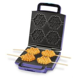 Disney DFR-4 Waffle Maker, One Size, Lavender