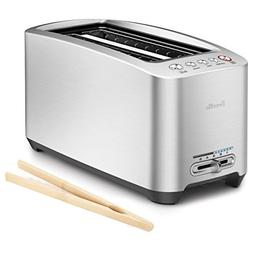 Breville Die-Cast 4-Slice Long Slot Smart Toaster with Free