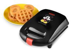 Mickey Mouse Waffle Maker Disney Mini For Kids Breakfast Bel