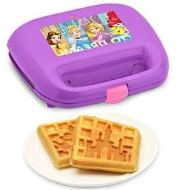Disney Princess 2-Slice Non-Stick Waffle Maker FCV