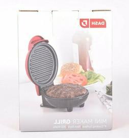Dash DMG001RD Mini Maker Portable Grill Machine + Panini Pre