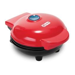 Dash DMS001RD Mini Maker Electric Round Griddle for Individu