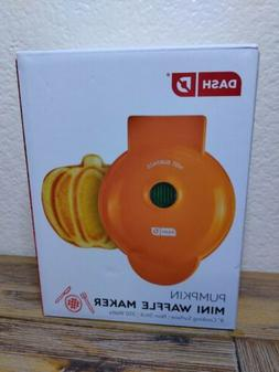 Dash DMWP001OR Mini Waffle Maker Machine for Pumpkin Shaped