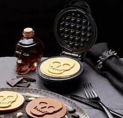 DASH DMWS100SP Mini Waffle Maker in Black Shimmer - Skull Sh