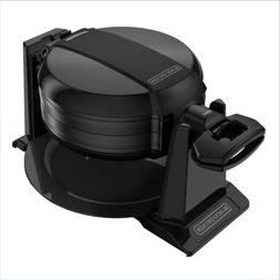 Double Belgian Waffle Maker Iron Gourmet Baker Breakfast Com
