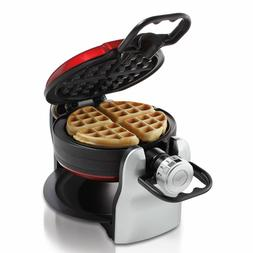 Oster Double Flip Waffle Maker, Red box 23