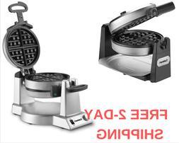 Cuisinart Double Single Belgian Waffle Maker Stainless Steel
