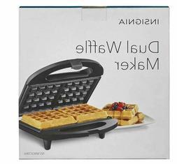Insignia Dual Waffle Maker  Black