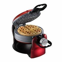 Oster® DuraCeramic Double Flip Waffle Maker - Red CKSTW