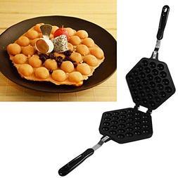 Egg Pan - Delaman Aluminum Alloy Non-stick DIY Eggettes Pan,