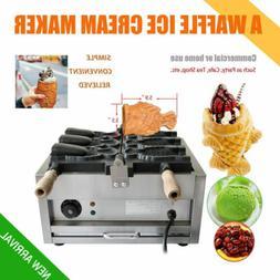 Electric 3x Fish Waffle Ice Cream Taiyaki Maker Baker 2KW No