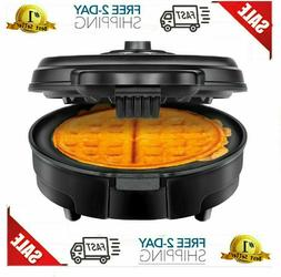 electric belgian waffle maker nonstick breakfast kitchen