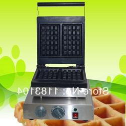 10x17cm 110v Electric Rectangle Belgium Belgian waffle Maker
