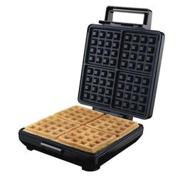 electric waffle maker belgian nonstick kitchen breakfast