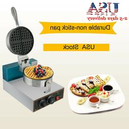 Electric Waffle Maker Commercial Safty Use Kitchen Waffle  1
