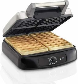 Electric Waffle Maker Nonstick Kitchen Breakfast Sandwich Ba