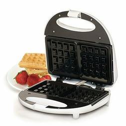 Elite Cuisine EWM-9008K Waffle Maker Iron, Makes 2 SquareWaf