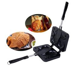 YOFAN Fish-Shaped Taiyaki Japanese Waffle Pan Maker Waffle I