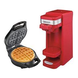 Proctor Silex FlexBrew Coffee Maker with Belgian Waffle Make