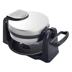 Costway Flip Belgian Waffle Maker Round Non Stick Stainless