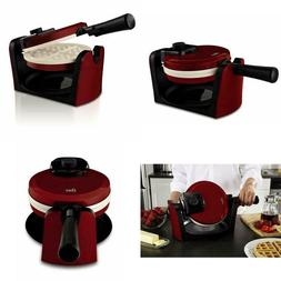 Flip Waffle Maker Belgian Breakfast Kitchen Commercial Iron