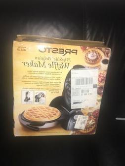 Presto FlipSide Belgian Waffle Maker with Ceramic Nonstick -