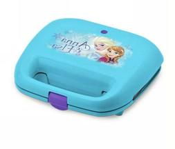 Disney Frozen Anna & Elsa 2-Slice Nonstick Waffle Maker Snow