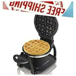 Hamilton Beach Flip Belgian Waffle Maker with Non-Stick Remo