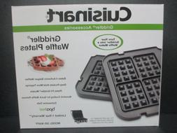 Cuisinart GR-WAFP Griddler Waffle Plates New GRWAFP Griddler
