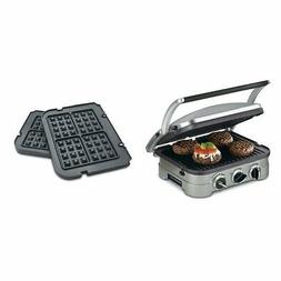 Griddle Electric Grill Waffle Maker Panini 5 in 1 Griddler N