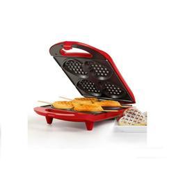 Heart Shaped Belgian Waffle Maker Baker Breakfast Kitchen Va