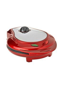 Kalorik Heart Shaped Waffle Maker, Red, 1 ea